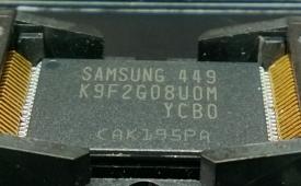 lettura chip NAND - TSOP48 di una chiavetta USB